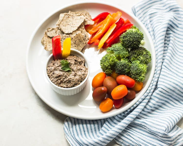 Spicy Adzuki Bean Hummus