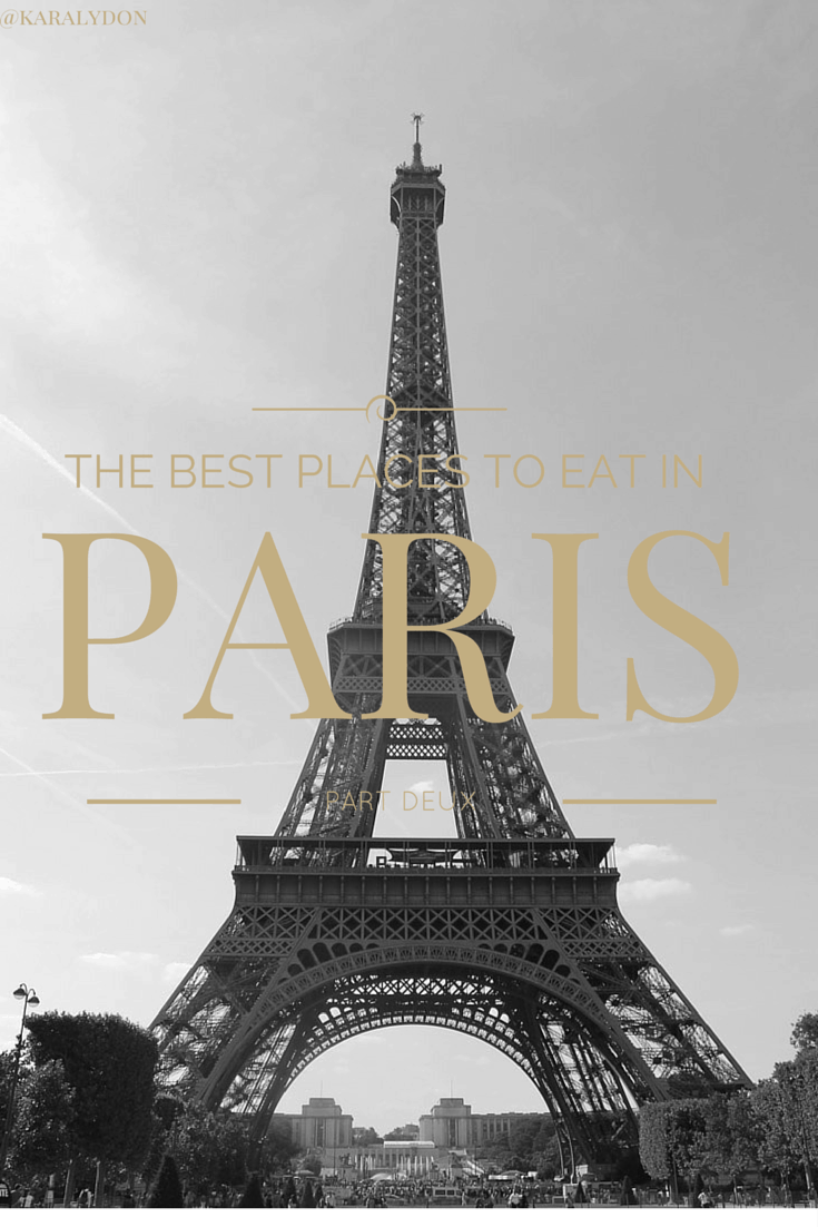 Follow me on my Parisian adventure as I dish the best places to eat in Paris - from the best crepes to the best wine bar to the best surprise menu! | @karalydon karalydon.com/blog