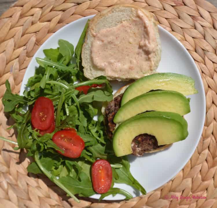 Black Bean Veggie Burgers via Abby Langer | karalydon.com/blog @karalydon