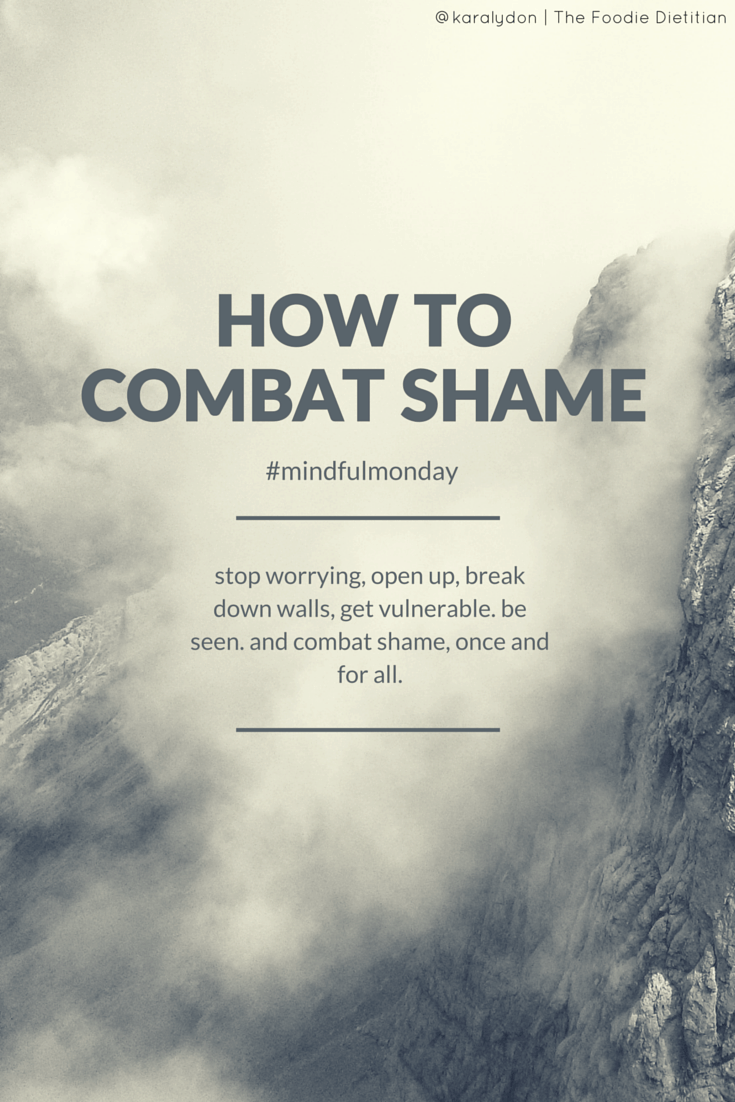 We all experience shame, also known as guilt, humiliation, or embarrassment. Shame is universal - but we don't have to surrender to it. We can fight it. Read on to learn how to combat shame. | @karalydon karalydon.com/blog