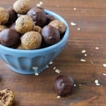 Dark Chocolate Peanut Butter Hemp Bites