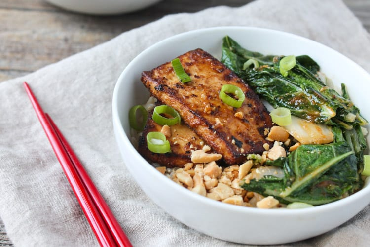 with peanut lime chicken spicy peanut chicken rice bowl recipes ...
