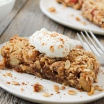 No Bake Vegan Apple Pie Bars