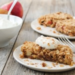 No Bake Vegan Apple Pie Bars