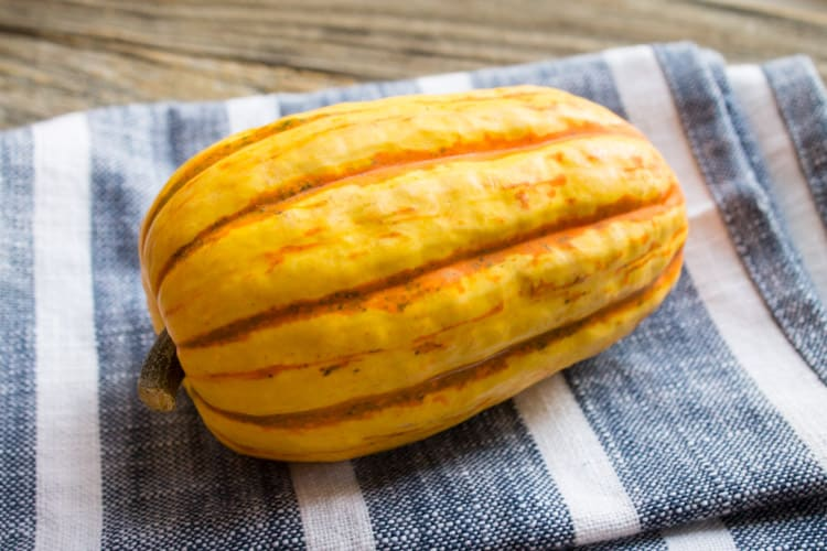 What's In My CSA Box Delicata Squash-1
