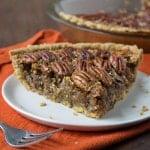 Healthier Hemp Pecan Pie