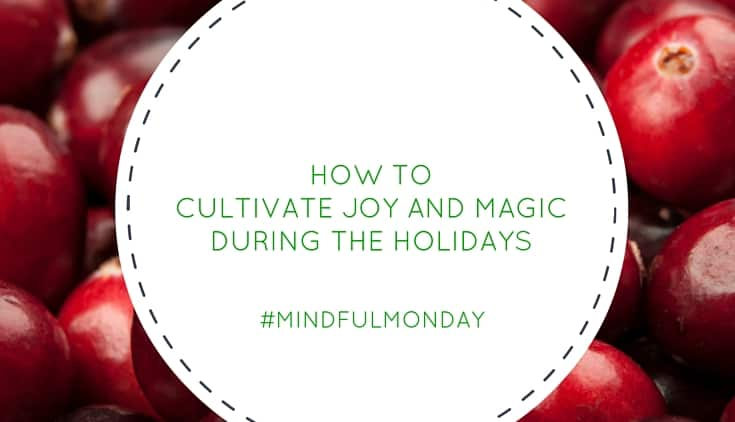 How to Cultivate Joy and Magic During the Holidays (Mindful Monday)