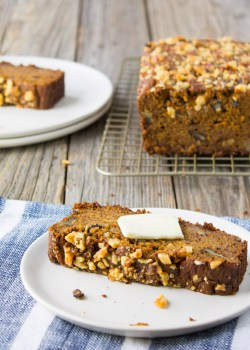 Whole Wheat Butternut Squash Banana Bread