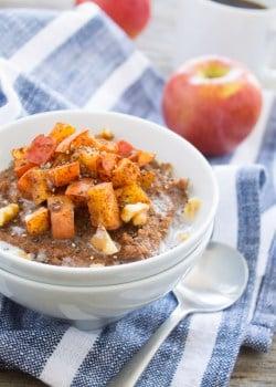 Apple Pie Teff Porridge