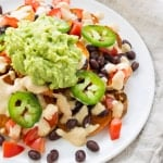 Vegan Loaded Sweet Potato Nachos