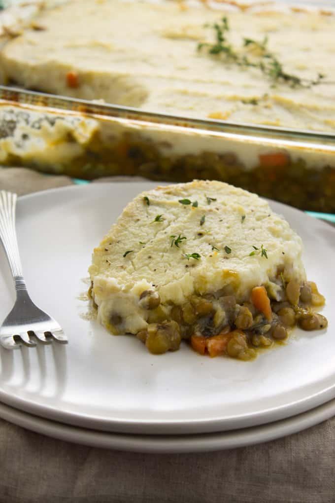 Vegan Shepherd's Pie with Cauliflower Mash-7-2
