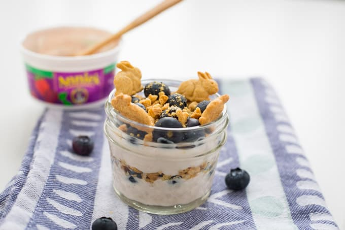Annie's Organic Whole Milk Yogurt Blueberry Graham Jam Parfait