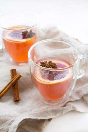 Blood Orange Hot Toddy