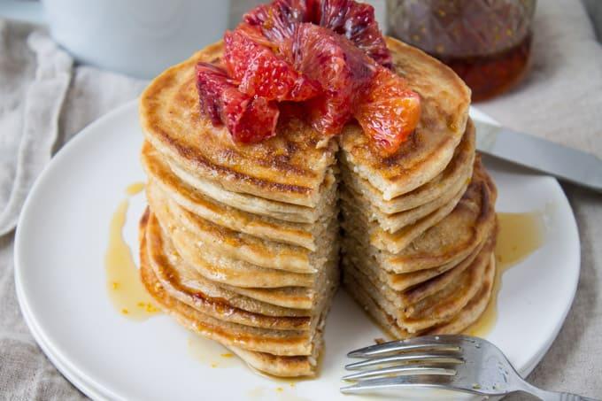 Whole Wheat Ricotta Pancakes