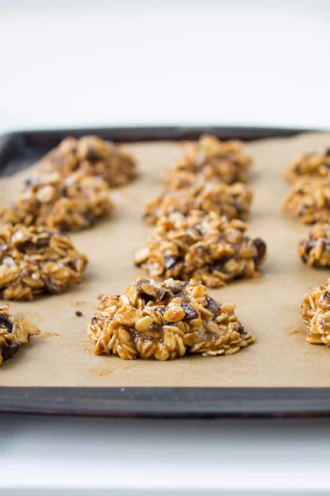Vegan Peanut Butter Chocolate Cookies