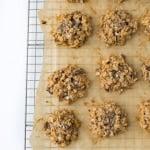 Vegan Chocolate Chunk Oatmeal Cookies