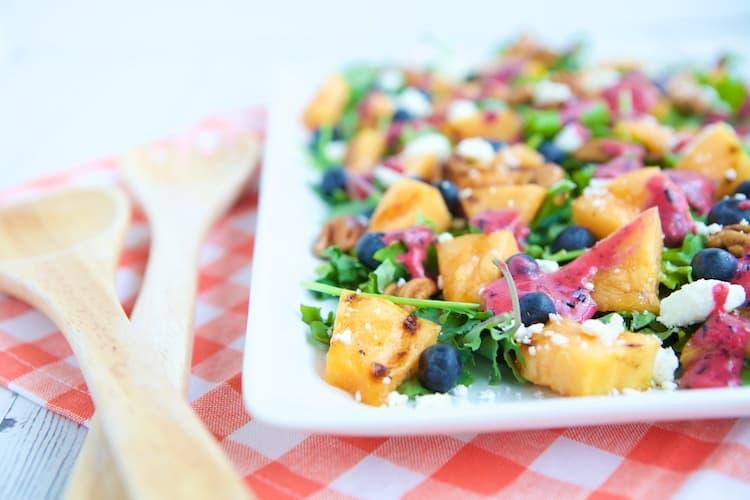 Cantaloupe Blueberry salad 2