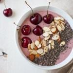 Cherry Cheesecake Smoothie Bowl -3-2