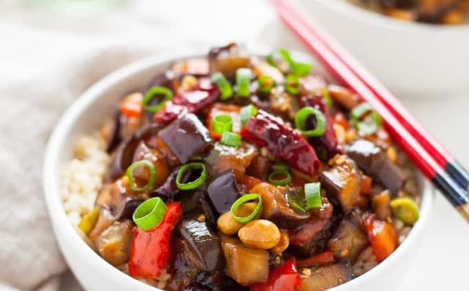 Kung Pao Eggplant