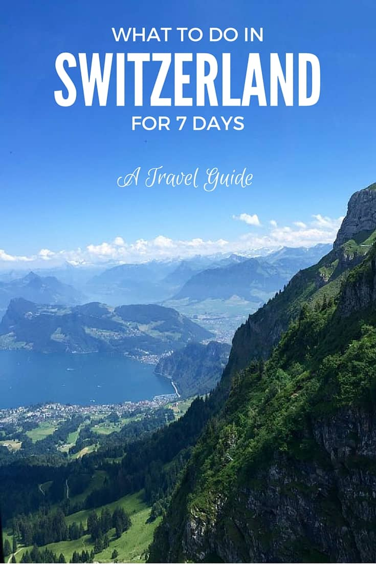 We were clueless when we planned our Switzerland trip, which is why I created this travel guide for you for what to do in Switzerland for 7 days.
