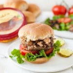 Spicy Hummus Black Bean Veggie Burgers-1-2