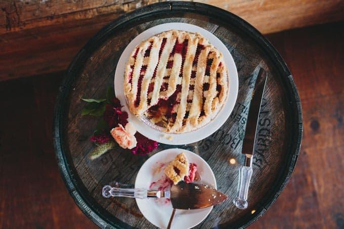 pie rustic barn wedding