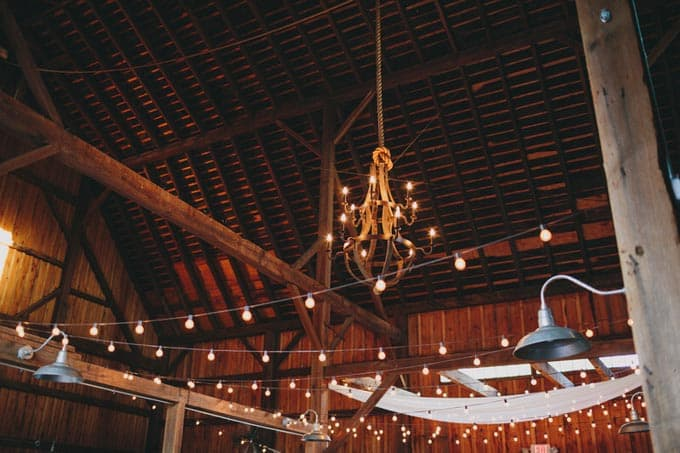 barn wedding in Upstate New York