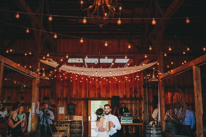 Rustic Barn Wedding In Upstate New York