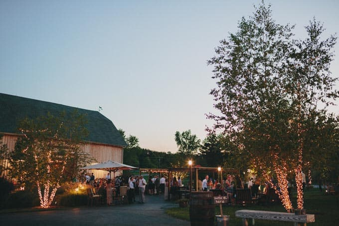rustic barn wedding in upstate new york