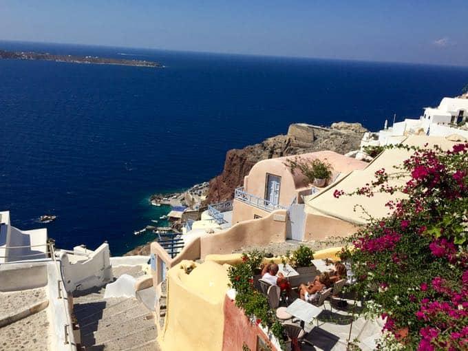 top 10 things to do on your honeymoon in greece. oia, santorini