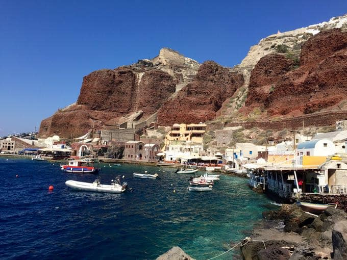 bay of ammoundi. top 10 things to do on your honeymoon in greece.