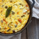 Thanksgiving Breakfast Frittata