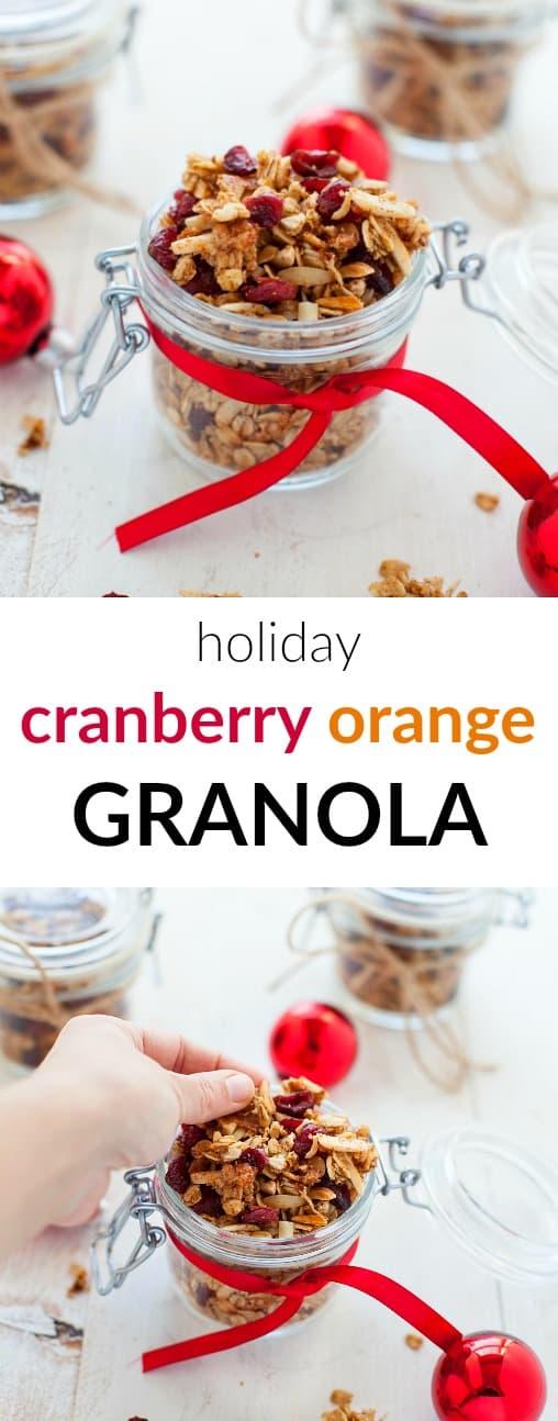 Kara Lydon | Holiday Cranberry Orange Granola