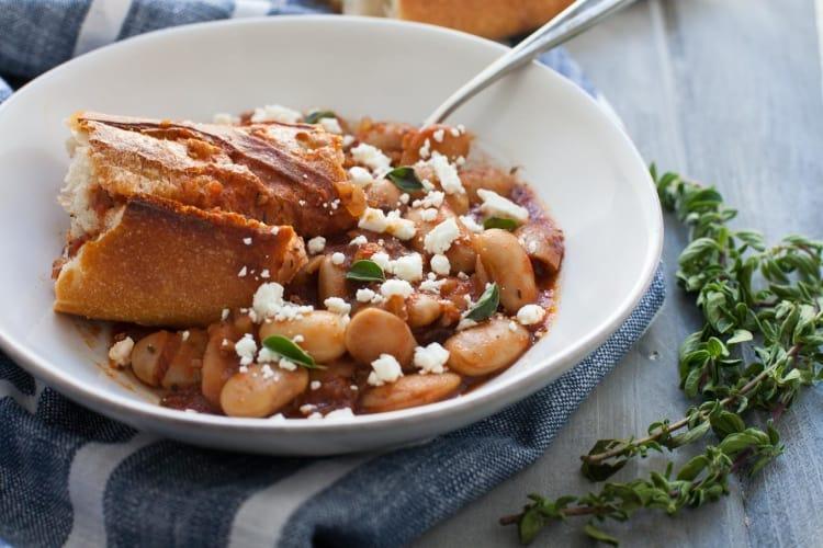 Greek Baked Beans