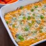 Vegetarian Buffalo Cauliflower Wing Dip