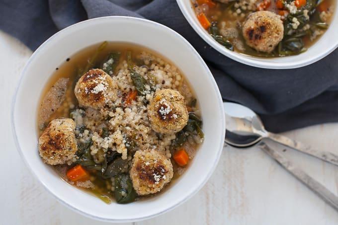 Slow Cooker Vegan Italian Wedding Soup