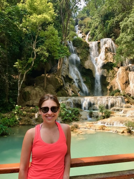 5 Days in Luang Prabang - Kuang Si Waterfalls