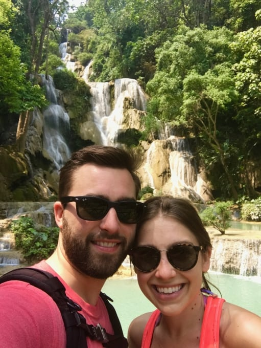 5 Days in Luang Prabang - Kuang Si Waterfalls