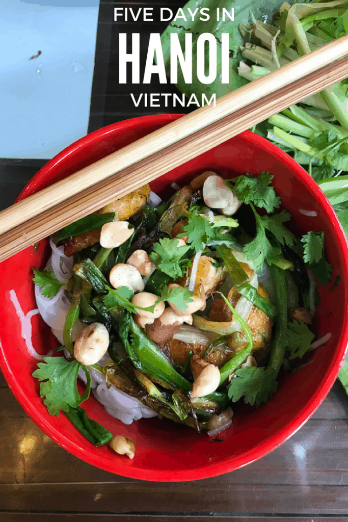 Recapping our five days in Hanoi, Vietnam. Lots of street food and rich culture.