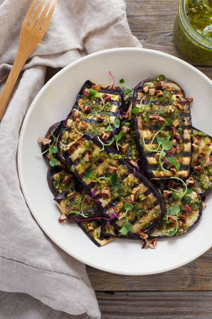 recipe: grilled eggplant side dish [15]