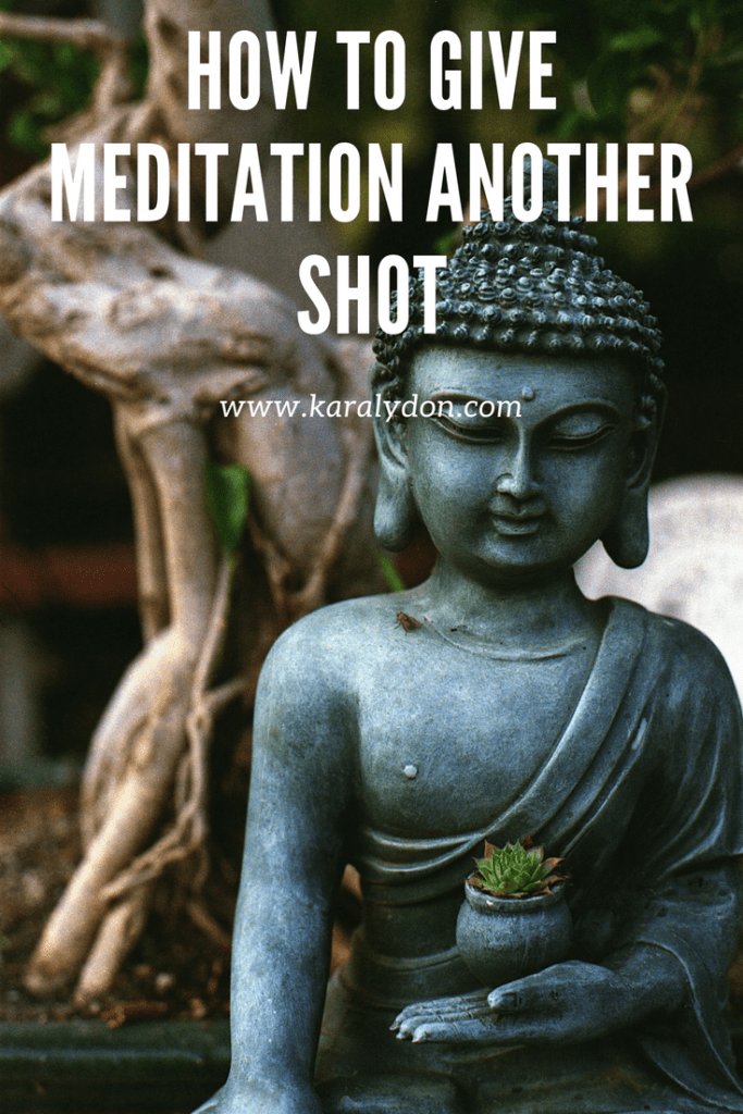 A meditation convert shares her journey to meditation and how to give meditation another shot.