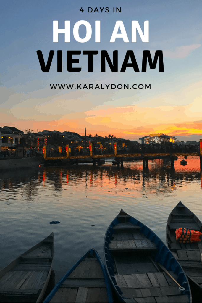 A recap of our 4 days in Hoi An, one of our favorite spots in Vietnam! Read on to learn where to stay, where to eat and what to do!