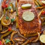 Sheet Pan Salmon Fajitas-4-2