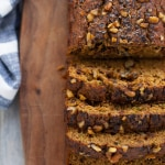 Whole Wheat Pumpkin Chocolate Chip Zucchini Bread