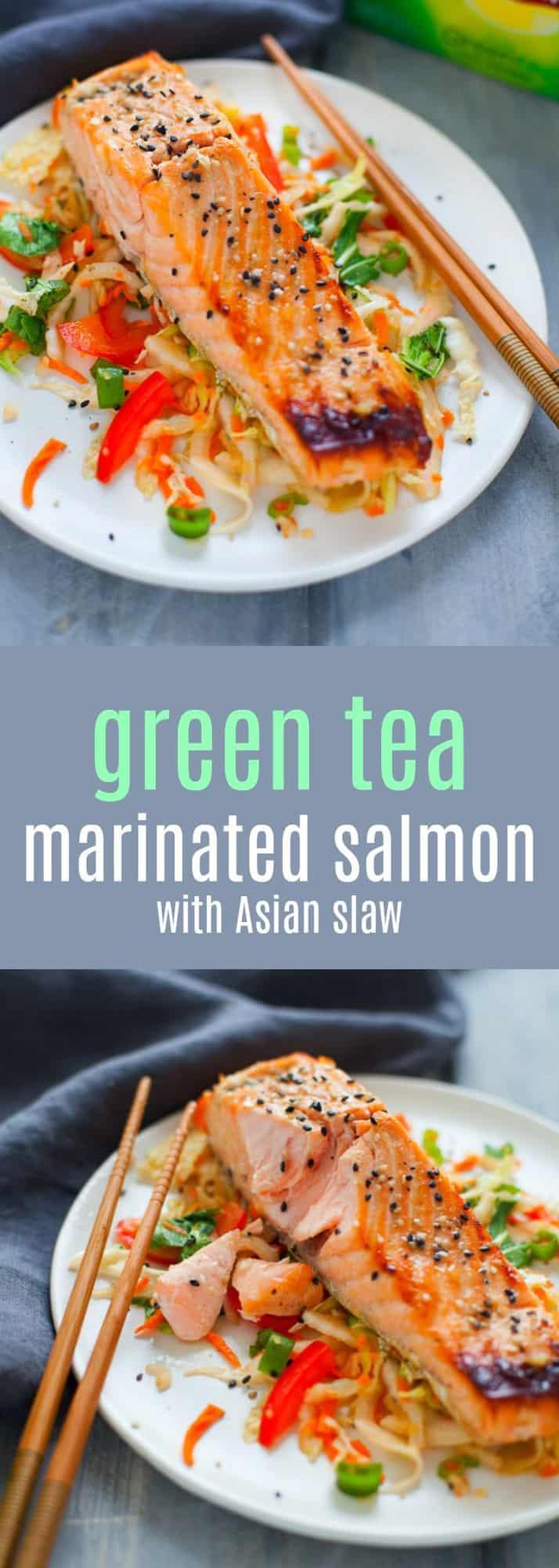 How to Make TeaMarinated Salmon