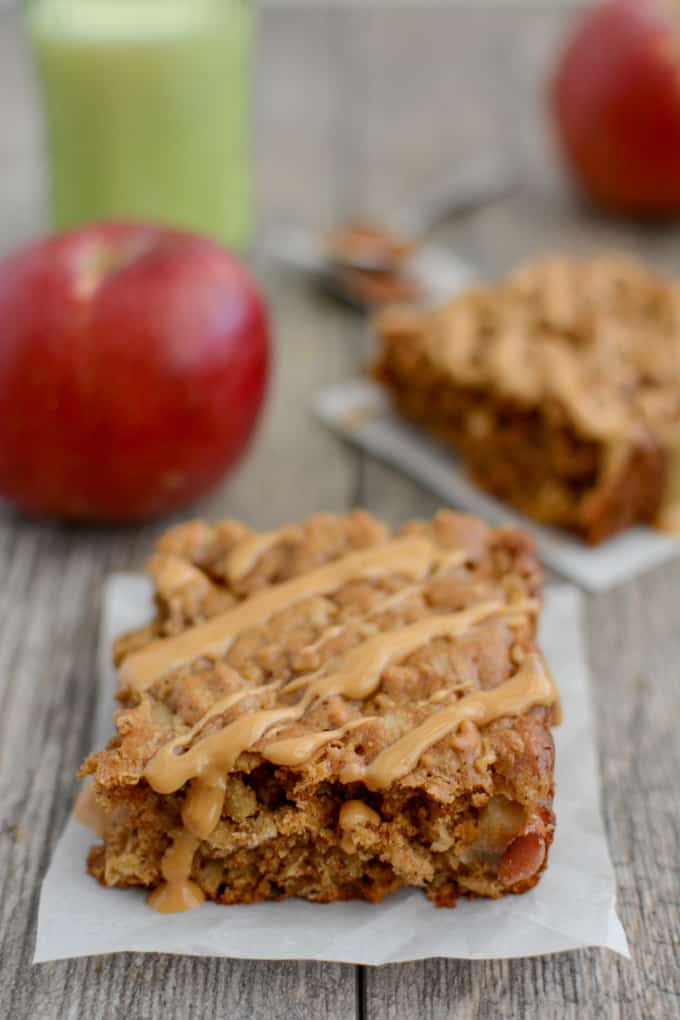 Apple Cinnamon Breakfast Bars 3