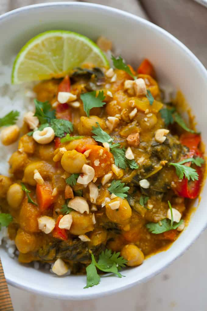 Vegan Slow Cooker Pumpkin Curry