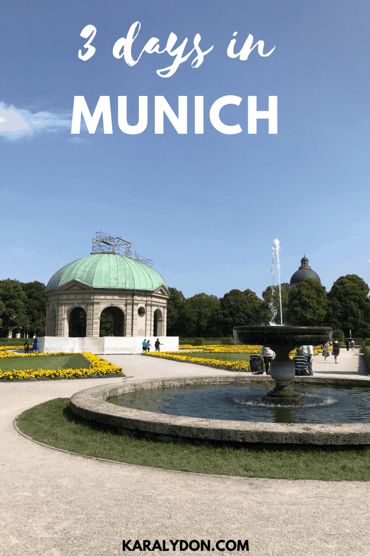 A recap of my 3 days in Munich Germany, which sights to see and where to eat!