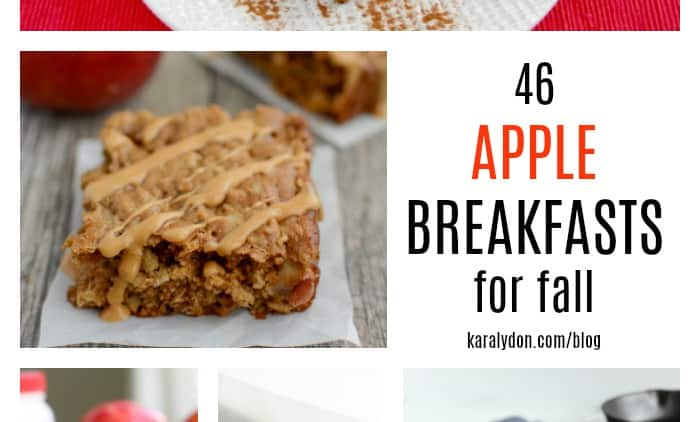 46 Best Apple Breakfast Recipes for Fall