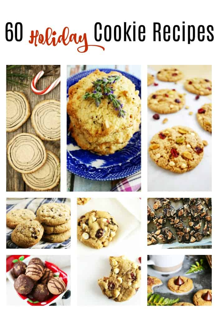 The holidays are almost here! Which means your kitchen needs to be fully stocked with cookies STAT. Take your pick from these 60 best holiday cookie recipes from fellow dietitians!